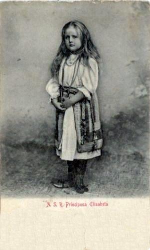 Princess Elisabeth of Romania, later Queen of Greece