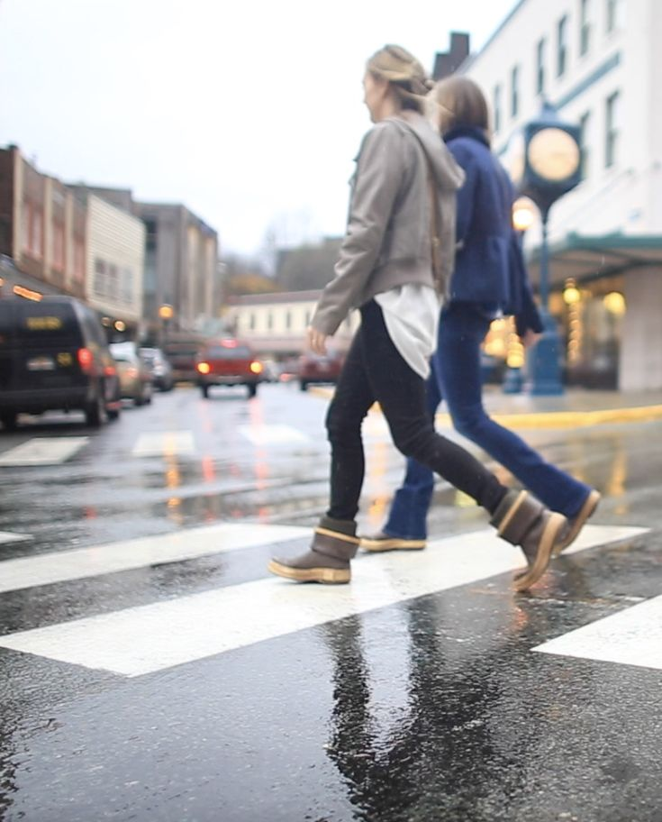 Roaming the streets in Juneau, Alaska, Alaska's Capital City.  Fall fashion in Juneau includes rain resistant outerwear, and loads of layers!