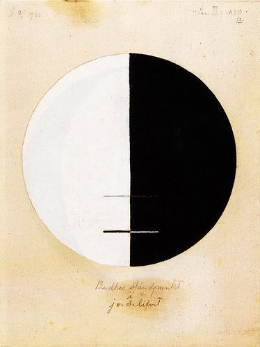 hungereye: Hilma af Klint (1862-1944), a Swedish artist and mystic whose paintings were among the first abstract art.