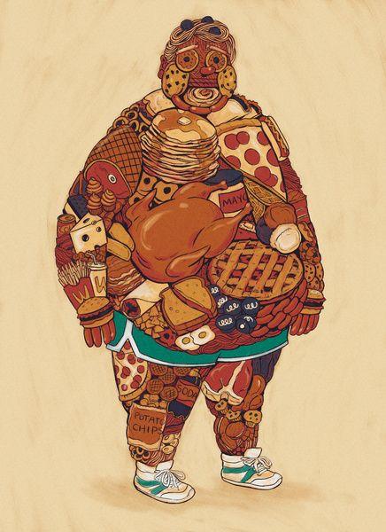 Homme burger