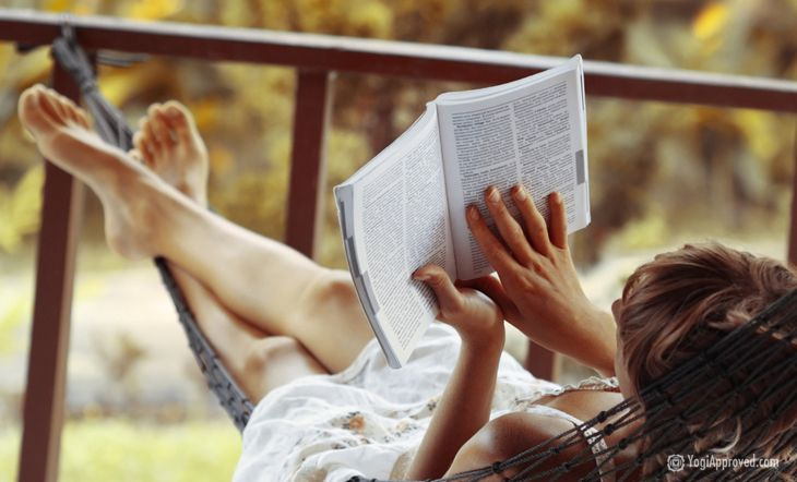 """If you share my same love for books and yoga, then, dear readers, you are in for a treat!! I have compiled a reading list of my personal top picks in """"Yoga Reading."""""""