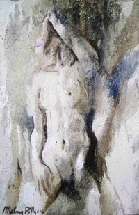 Melissa Pollastri - Pittrice Ritrattista olio su tela - 100 x 150 cm