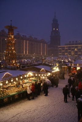 """Christmas in Germany - Dresden. More pics and description in my post """"Best Christmas market in Europe?"""""""