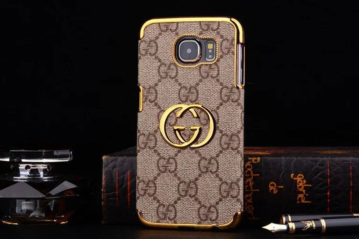 Best Fashion Gucci Galaxy S7 Case Cover Brown