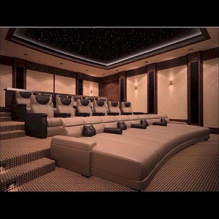 Home Theater Interior Design: Pin Szerzője: Home SNS, Közzétéve Itt: Interior
