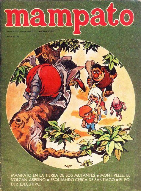 revista mampato comics y los 70s: Libros Albumes Revista de los 70s