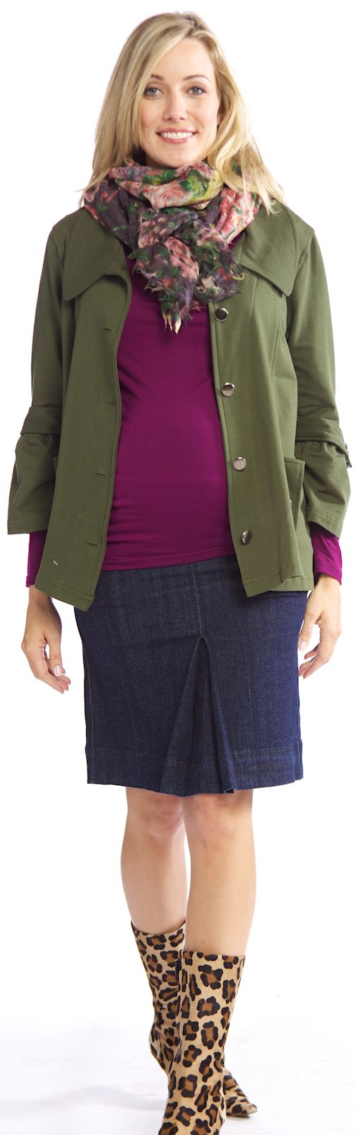 AFTER CHRISTMAS SALE www.duematernity.com  Everly Grey Drea Maternity Jacket | Maternity Clothes on Sale at Due Maternity
