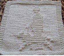 Guide Dog Dishcloth Pattern