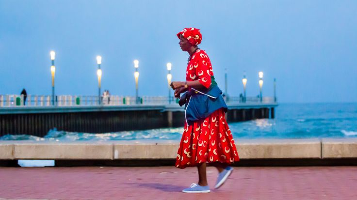 """""""Walking Lady"""" by Mauritius Jacobs 