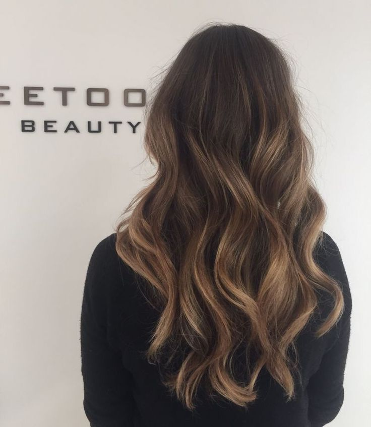 Dark Brown Hair With Caramel And Blonde Highlights - Hairs ...