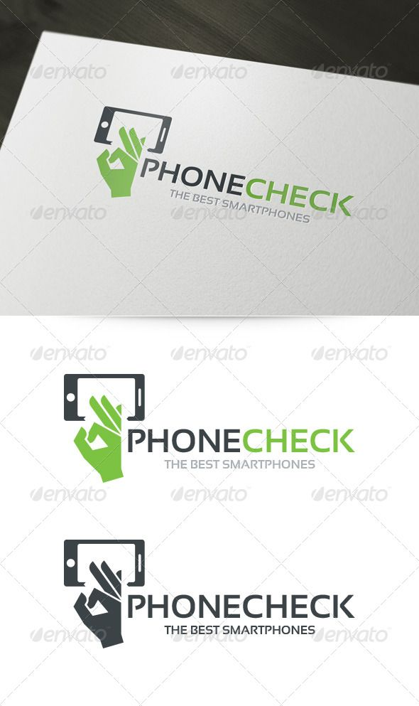 Phone Check - Logo Design Template Vector #logotype Download it here: http://graphicriver.net/item/phone-check-logo/6008409?s_rank=783?ref=nesto