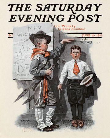Norman Rockwell Saturday Evening Post'un listesi ve Görüntü Arşivi ...