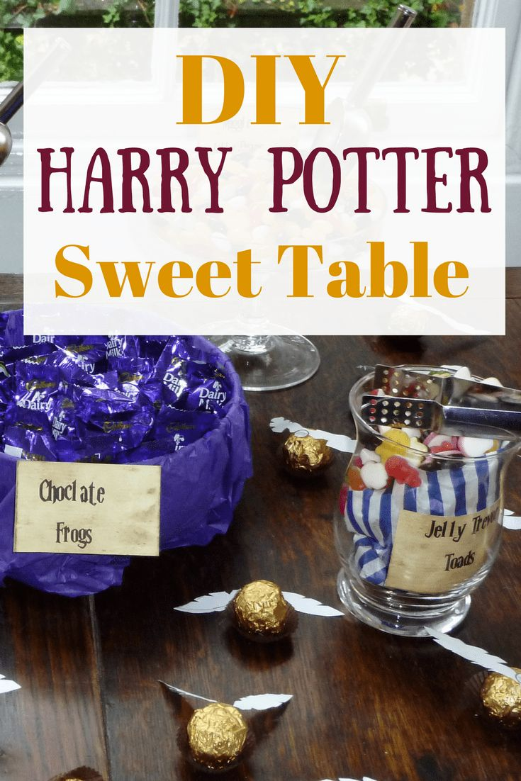 I may have mentioned once or twice that I'm a massive Harry Potter fan - when I got married in 2016 I decided to bring a touch of magic to our big day with a Harry Potter Sweet Table