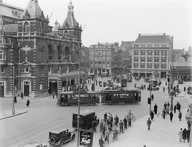 Leidseplein Amsterdam (jaartal: 1930 tot 1940) - Foto's SERC