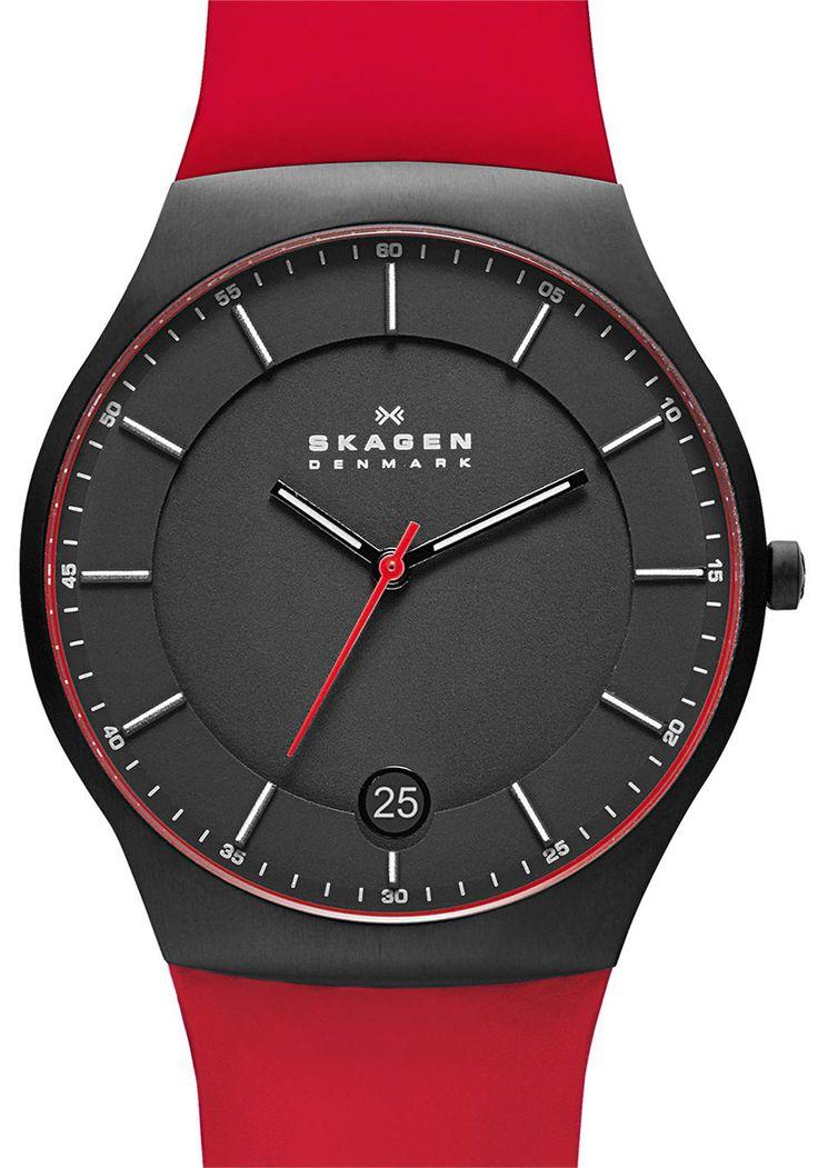 49 best Skagen images on Pinterest | Skagen watches, Leather strap ...