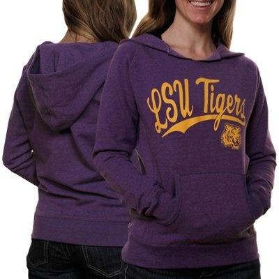 @Fanatics #FanaticsWishList - LSU Tigers Ladies Script One Hoodie - Purple