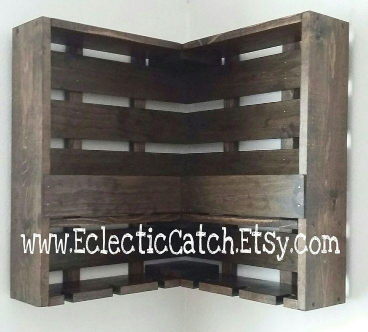Handmade-Handcrafted-Wine Rack-Liquor Rack-Marsala-Wine Glass Holder-Wine Storage-Unique-Corner Wall Hanging Wine Rack-Shelf by EclecticCatch on Etsy