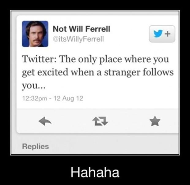 Twitter... The perfect place to stalk hot guys... One Rule at a Time