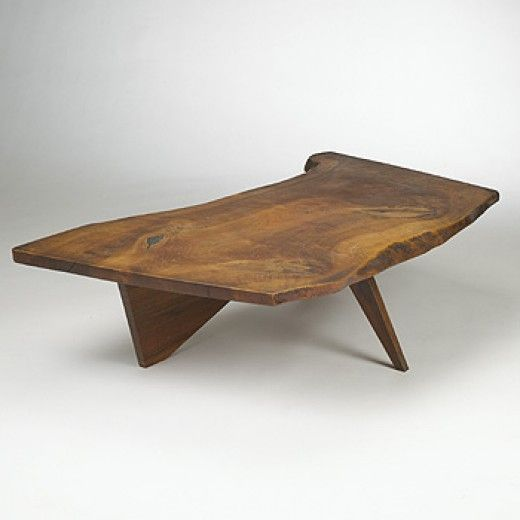 187: George Nakashima / Conoid coffee table < Modernist 20th Century, 07 December 2003 < Auctions | Wright