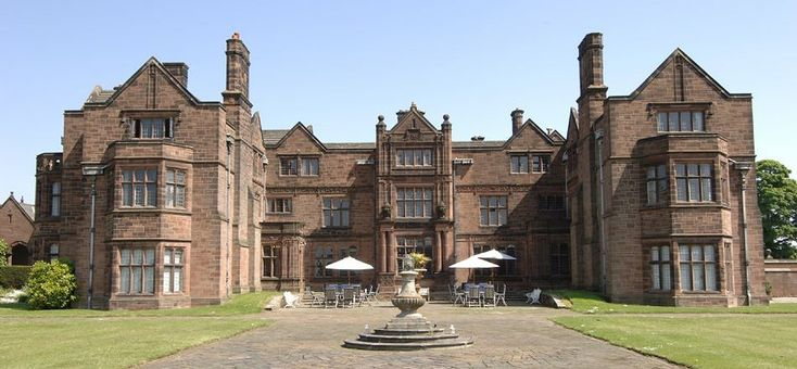Such an impressive building! Thornton Manor