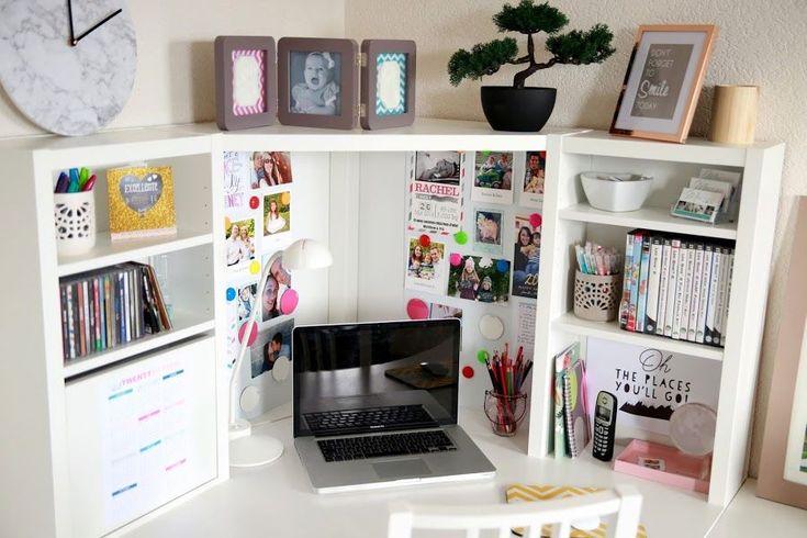 Un bureau coloré - #bureau #coloré #un