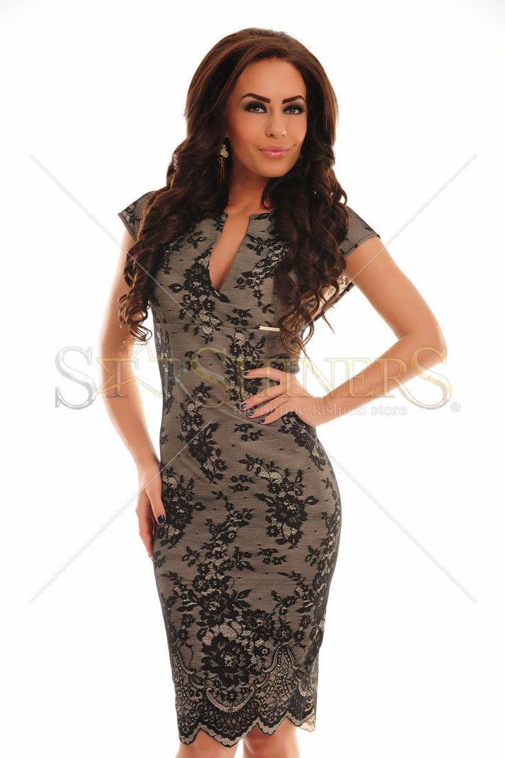PrettyGirl Mistique Black Dress