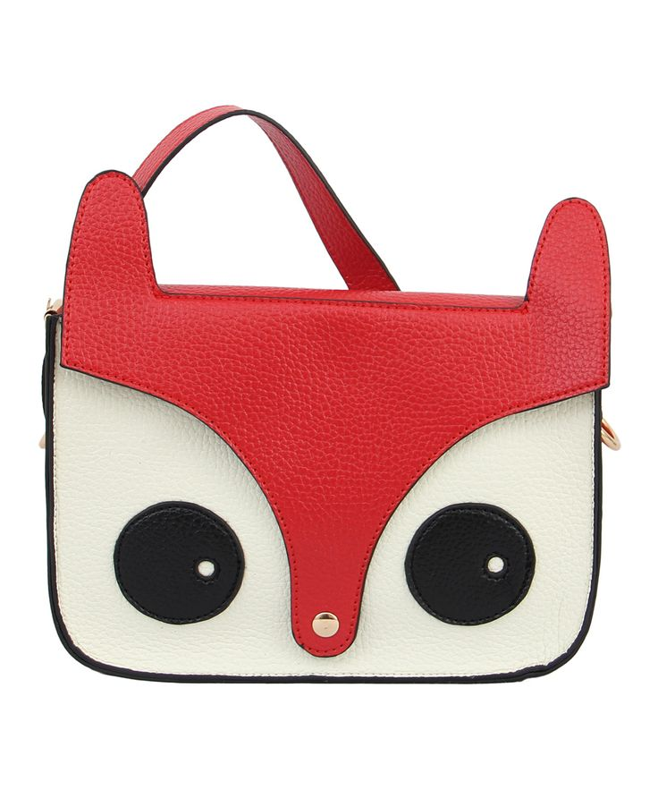 Red Critter Crossbody Bag