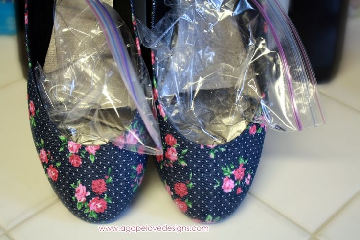 Agape Love Designs: How To Break In Your New Shoes Over Night!