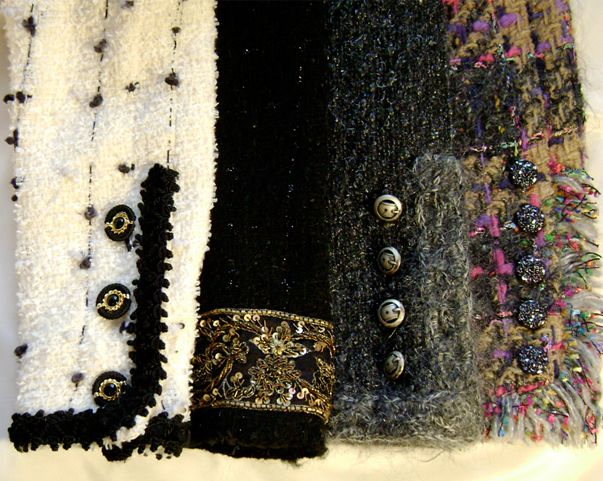 Susan Khaljie couture sewing instructor, Chanel style sleeves