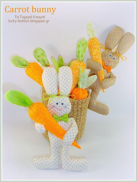 Πασχαλινές ιδέες με την λαγουδοπαρέα  Make Easter bunny for Spring (20 DIY Ideas)