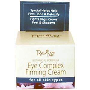 SALE!!! REVIVA LABS, EYE COMPLEX FIRMING CREAM, 1/4 OZ (21 G) Price:$8.40 Savings of: $3.60 (30% Off) Rating: 4.2 of 5 based on 519 reviews (see here: http://www.iherb.com/product-reviews/Reviva-Labs-Eye-Complex-Firming-Cream-1-4-oz-21-g/5044/?rcode=VAK149) Product details: http://www.iherb.com/Reviva-Labs-Eye-Complex-Firming-Cream-1-4-oz-21-g/5044?rcode=VAK149