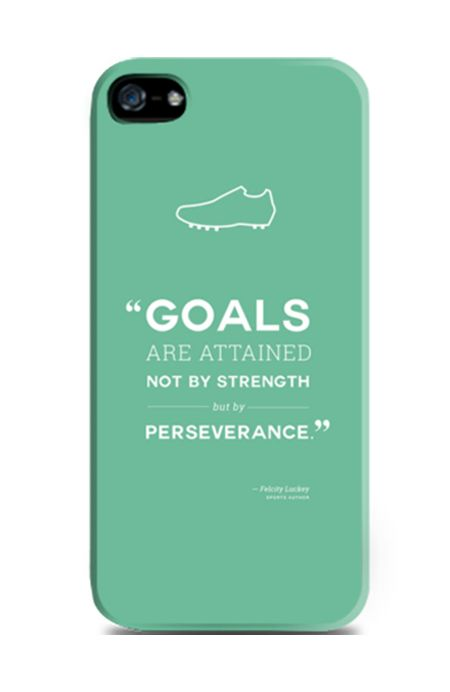 Football Quote iPhone 5 Case by Pico Pico, green case that madde from good material, with a typography print, this cool case will protect your phone from scratch, also available for iPhone 4/4S, 5C, iPhone 6, 6+, Samsung Galaxy Note 2, 3, Samsung Galaxy S3, S4, S5, Samsung Galaxy Grand, Redmi Xiaomi S1, Redmi Xiaomi Note. http://www.zocko.com/z/JIhaK