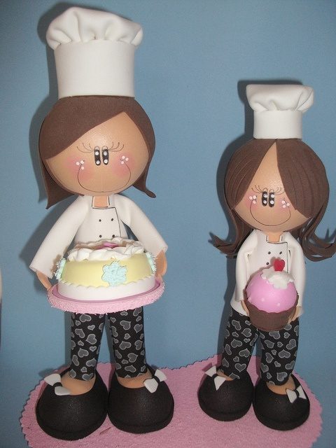 Cakes Design by Arte em E.V.A by Danibarboza, via Flickr