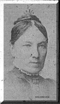 Martha Murray was born on 25 May 1832 in Macquarie River, Campbell Town, Tasmania, was christened on 4 Jan 1833 in Kirklands Presbyterian Church, Campbell Town, died on 24 Jun 1919 in Longford, Tasmania at age 87, and was buried in Jun 1919 in Charles Street Cemetery, now Ockerby Gardens, Tasmania.