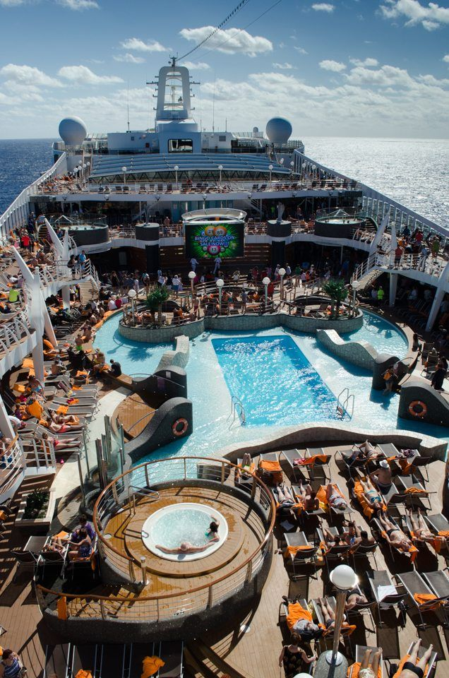 On Deck Aboard Msc Divina Photo C 2015 Aaron Saunders Msc Cruises Cruise Reviews Cruise