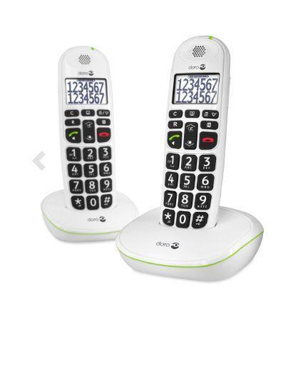 Doro - Telephone sans fil combiné Doro PhoneEasy® 110 duo