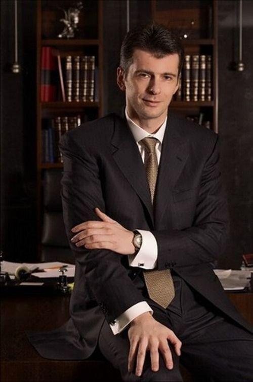 Mikhail Prokhorov, Russian Billionaire