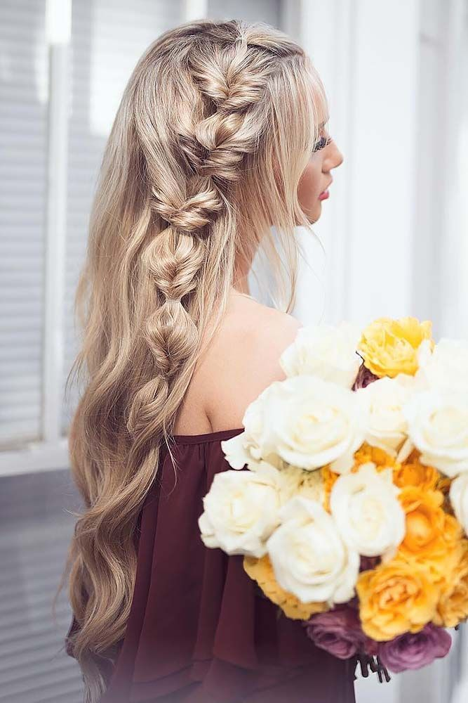 30 Braided Wedding Hair Ideas You Will Love ❤ See more: http://www.weddingforward.com/braided-wedding-hair/ #weddings #hairstyles