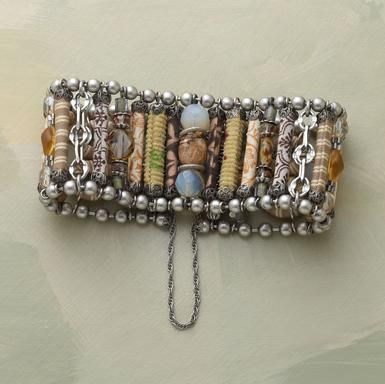 gorgeous bracelet. i really like the natural stones