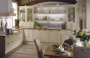 Kuchyně Julia vanilka patina