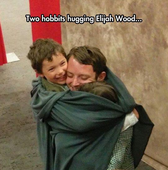 Hobbits and Elijah.