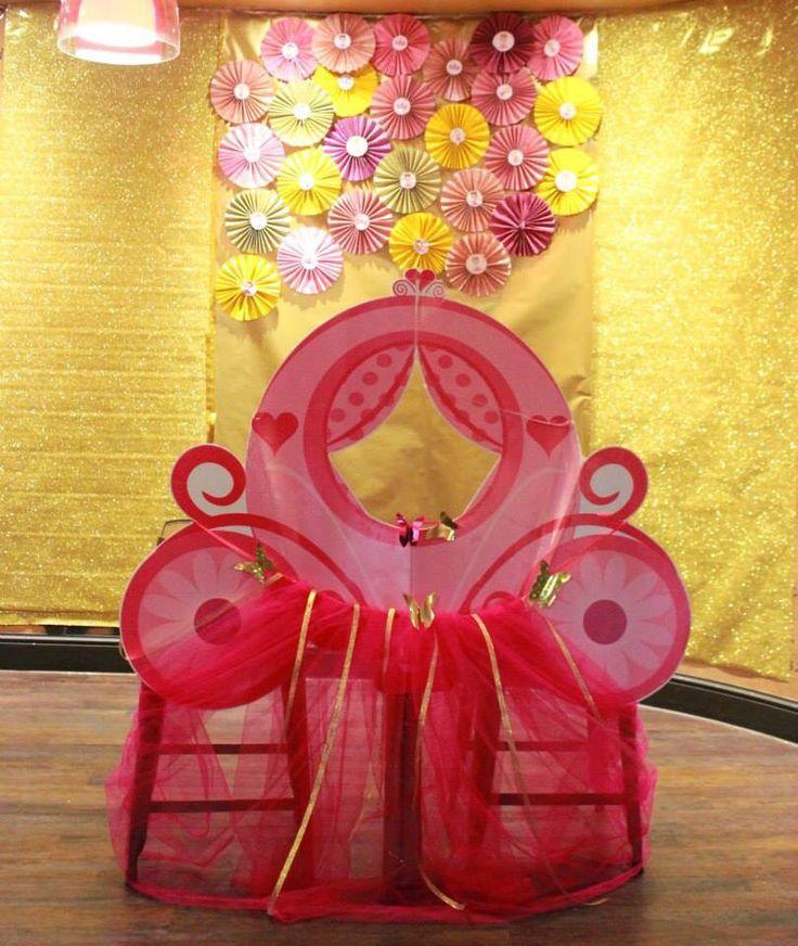 Fairy princess photo booth