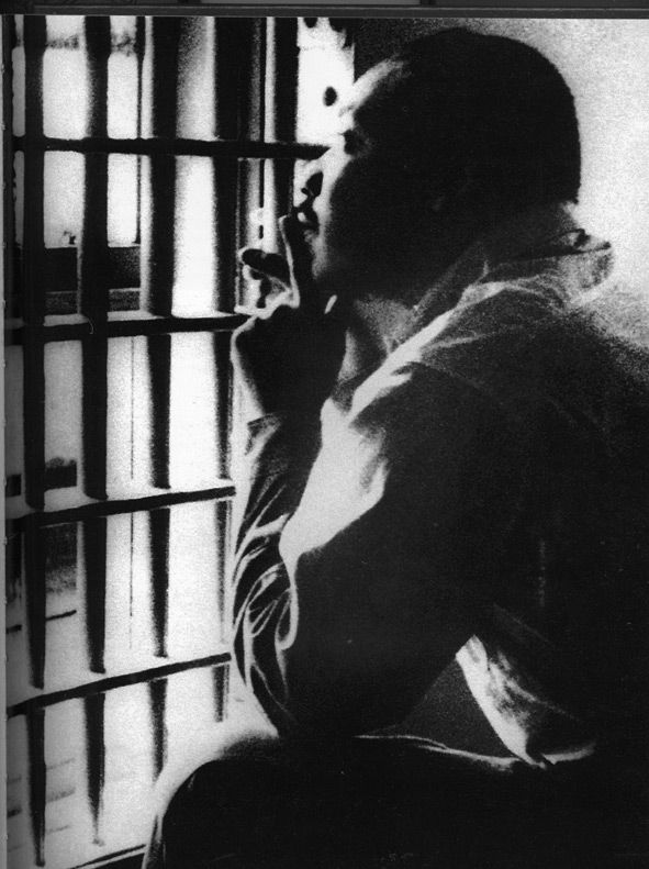 MLK in jail - Civil Rights Movement
