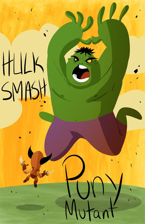hulk smash by ~mikeorion22 on deviantART