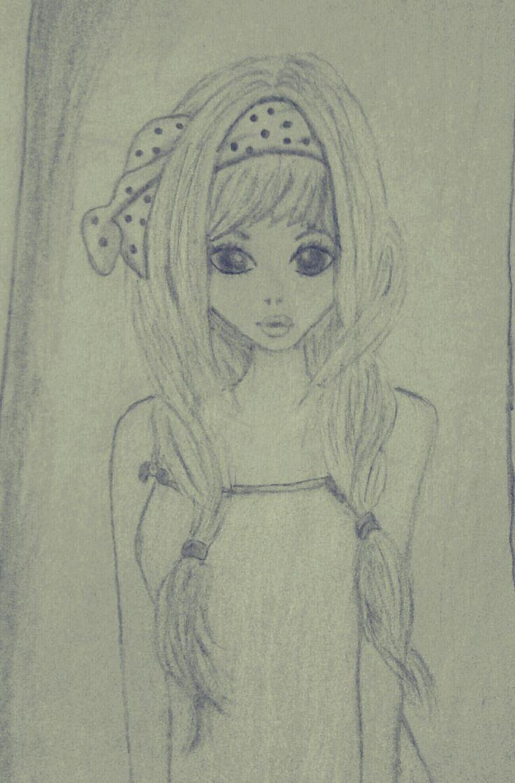 Beautiful girl drawing Pencil** Thasni's