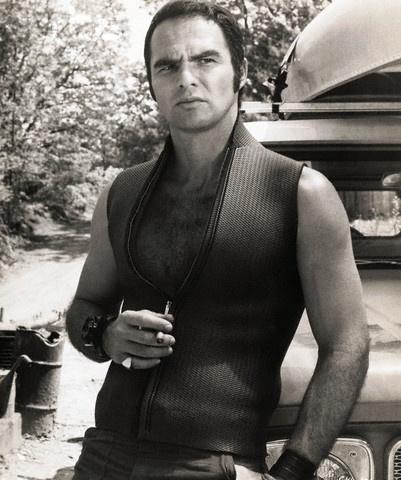 Burt Reynolds coolest wearer of a sleeveless wetsuit ever -  Deliverance