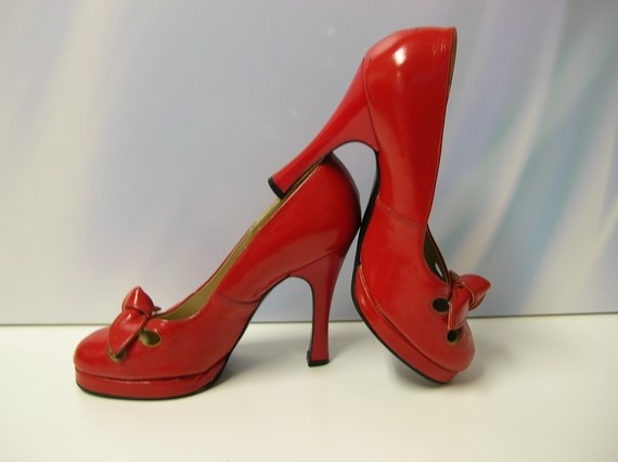 1000  images about red heel shoes on Pinterest