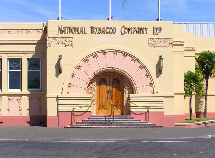 Napier, New Zealand - an Art Deco capital.