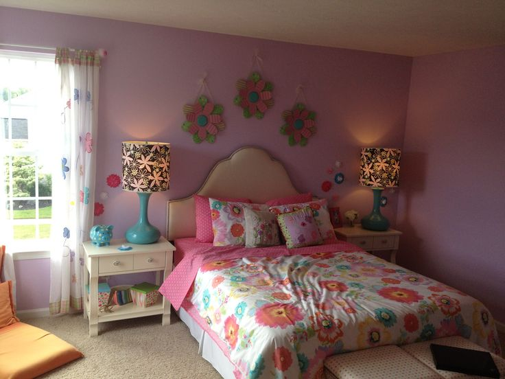 Inspiration for our 10 year old girl 39 s room building our for Room decor for 12 year olds