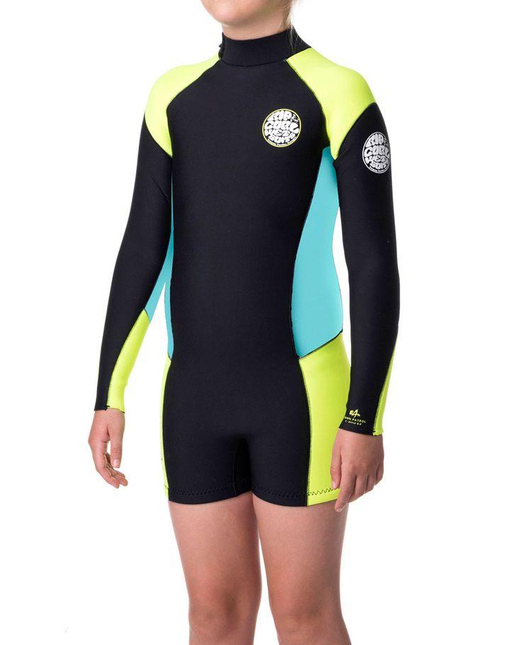 Junior Girl Dawn Patrol Long Sleeve Spring | Girls Wetsuits | Rip Curl Australia